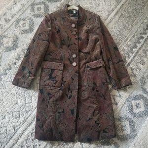 Garbenjung Paisley Women Winter Walker Coat
